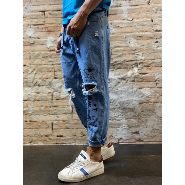Jeans traditional write