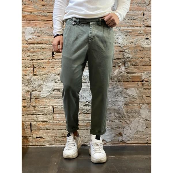 Pantalone soldier vita alta