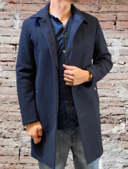 Cappotto british nero